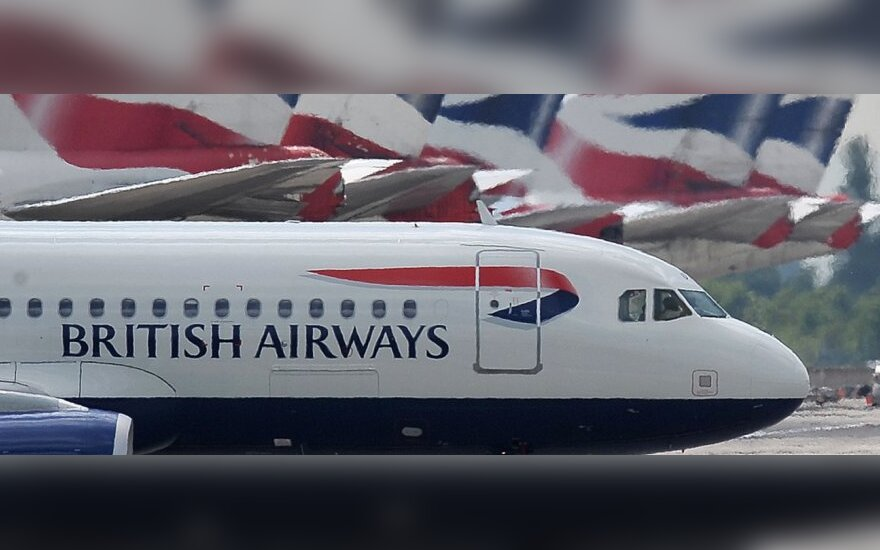 """""""British Airways"""": įgulos narių streikas nesujauks keleivių planų"""
