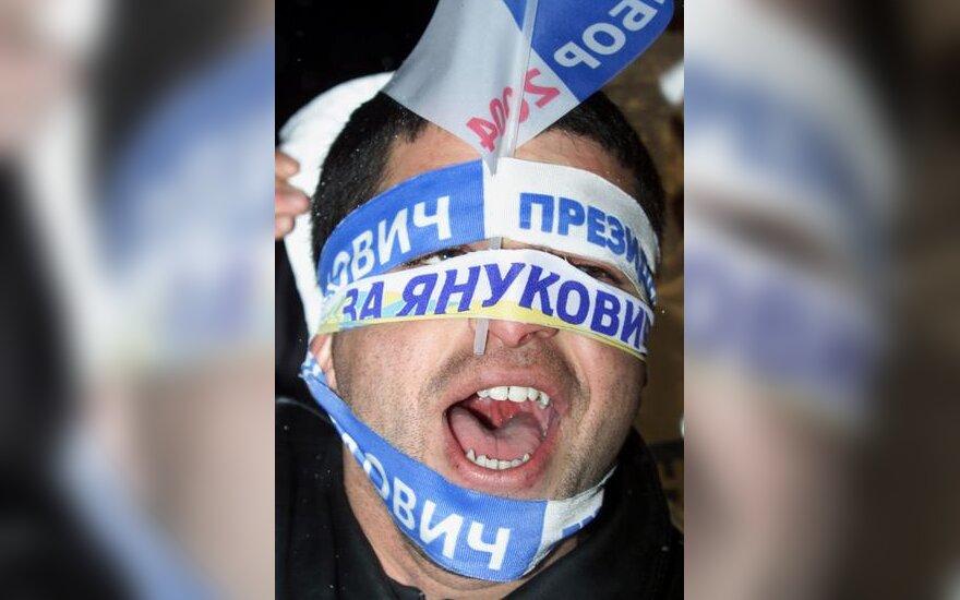 V.Janukovičiaus rėmėjai