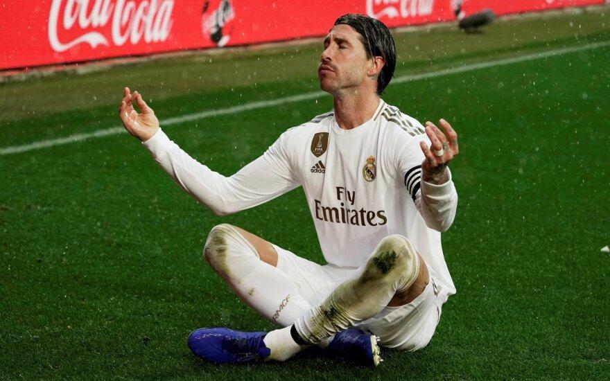 """""""Real"""" klubas pakilo į pirmą vietą Ispanijoje"""