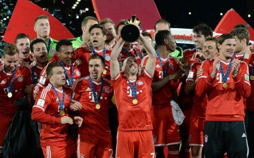 """Miuncheno """"Bayern"""" klubas - geriausias pasaulyje"""