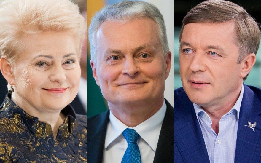 Dalia Grybauskaitė, Gitanas Nausėda, Ramūnas Karbauskis