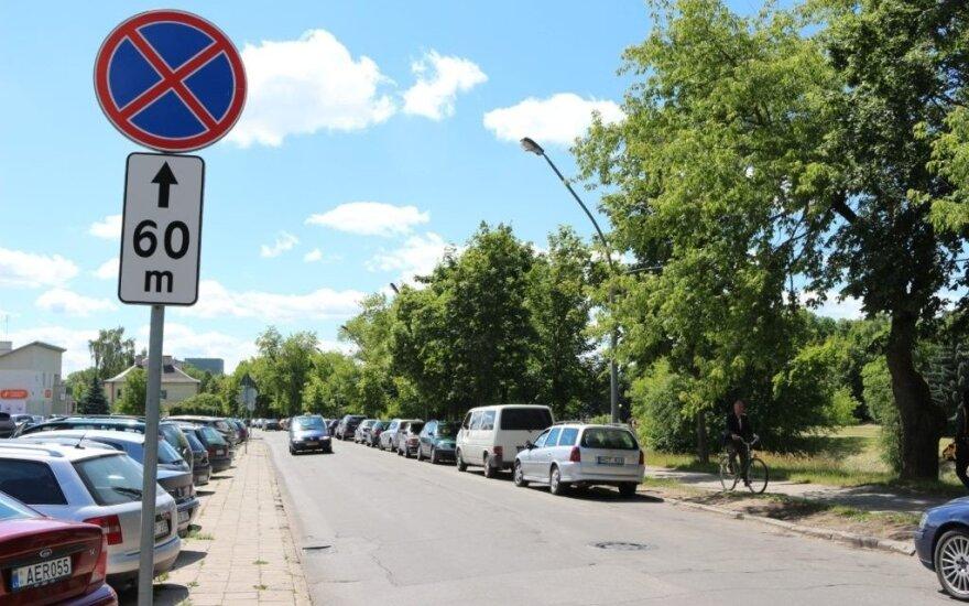 Parkavimo problema A. Jakšto gatvėje nebus sprendžiama