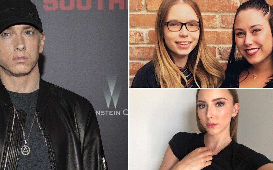 Eminemas ir jo dukros