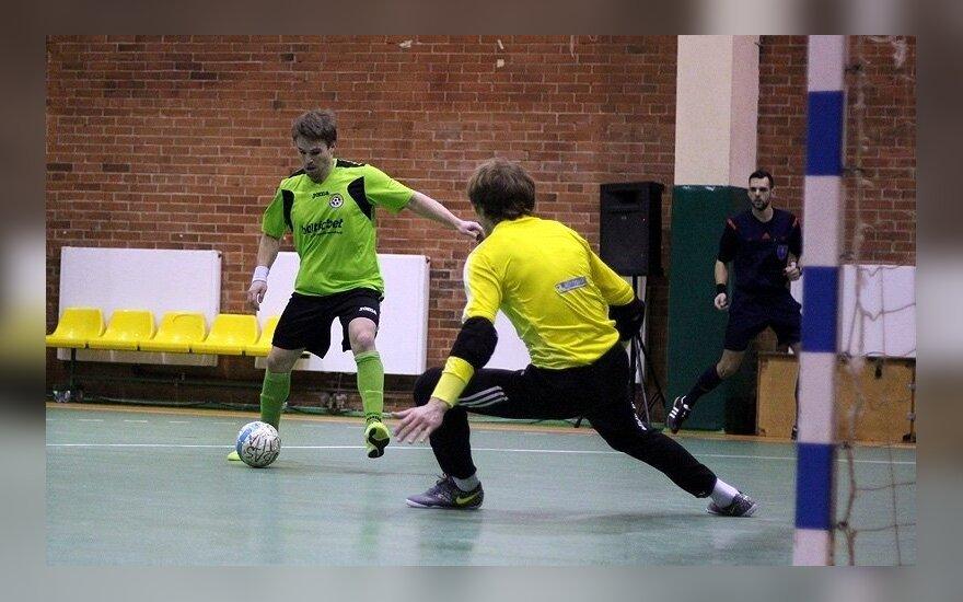 "Dešimtu Lietuvos salės futbolo taurės turnyro antro etapo dalyviu tapo Vilniaus ""Bekentas"""