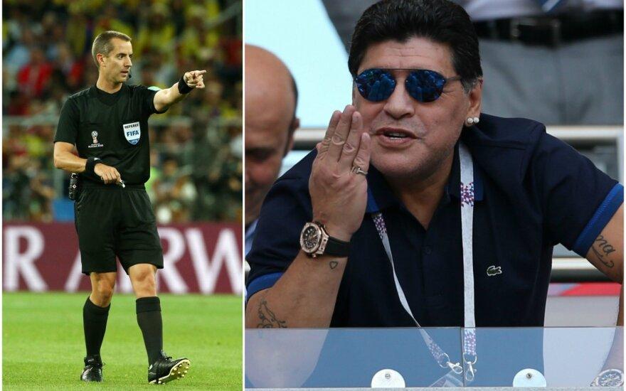 Markas Geigeris, Diego Maradona