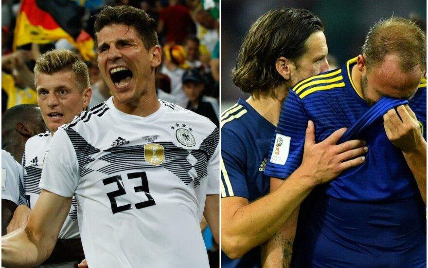 Toni Kroosas, Mario Gomezas, Švedijos žaidėjų liudesys