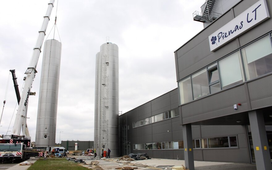 Lithuanian government to consider assistance to dairy cooperative Pienas LT