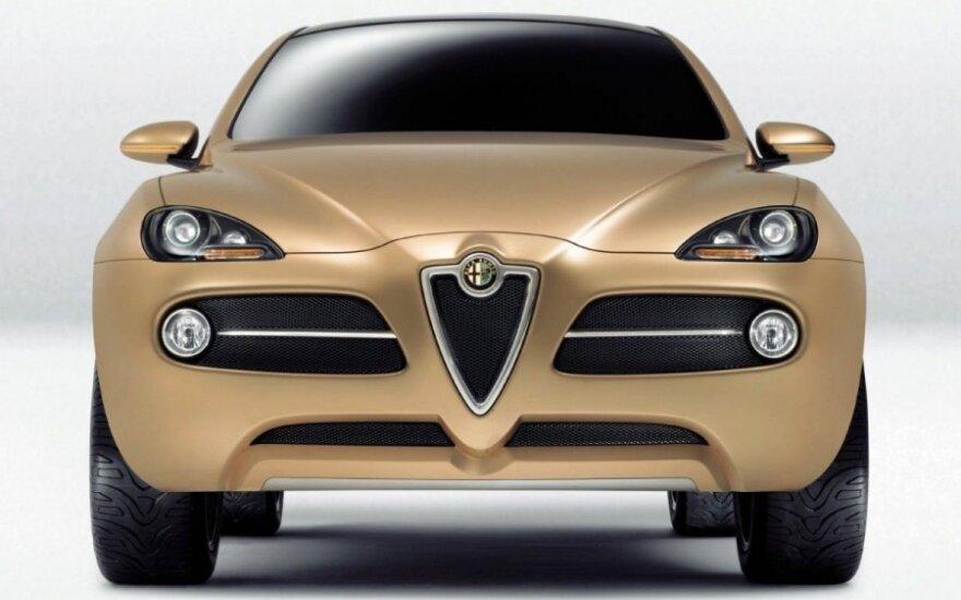 "2010 m. ""Alfa Romeo Kamal"" koncepcinis modelis"
