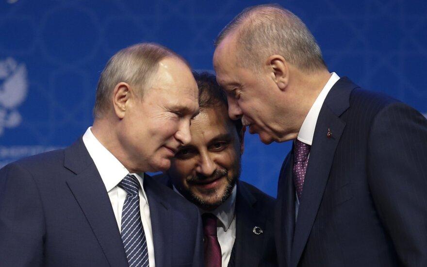 Vladimiras Putinas, Recepas Tayyipas Erdoganas