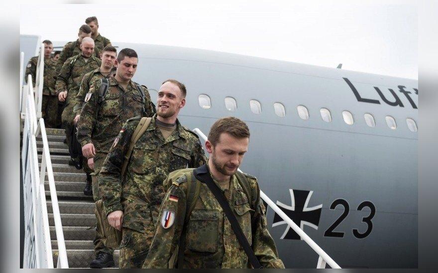 Kas ketvirtas Vokietijos pilietis būgštauja, kad šalis gali būti įtraukta į karinį konfliktą