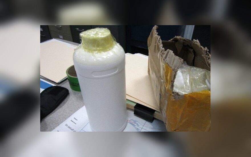 Honkongo pareigūnai smarkiai sunerimę: iš Lietuvos siunčiami žaginimo narkotikai