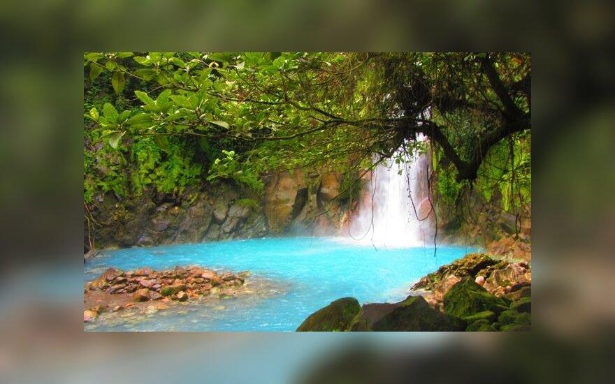 Mėlynoji upė Kosta Rikoje