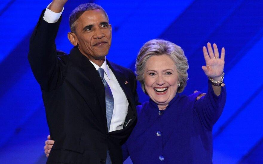 Billo ir Hillary Clintonų namuose rado bombą, dar vienas sprogmuo perimtas pakeliui į Obamos biurą