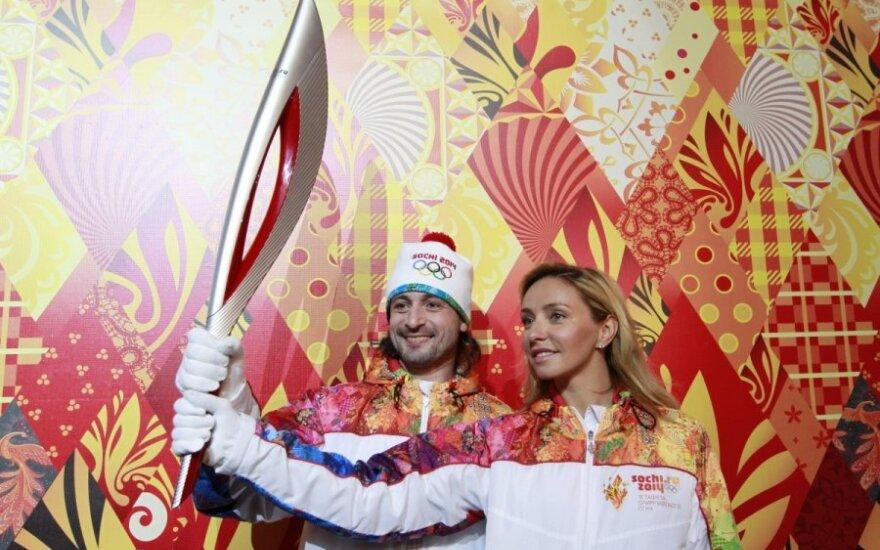 Sočio olimpinių žaidinių deglas
