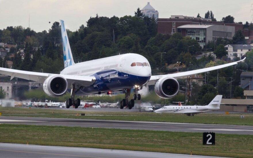 """Pripažino """"Boeing-787 Dreamliner"""" saugiu orlaiviu"""