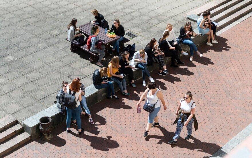 Studentai (asociatyvi nuotr.)