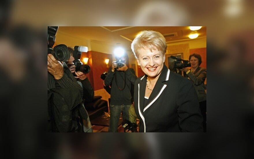 D.Grybauskaitė: niekas už mus problemų neišspręs