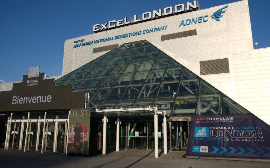 """""""ExCel"""" parodų centras Londone"""