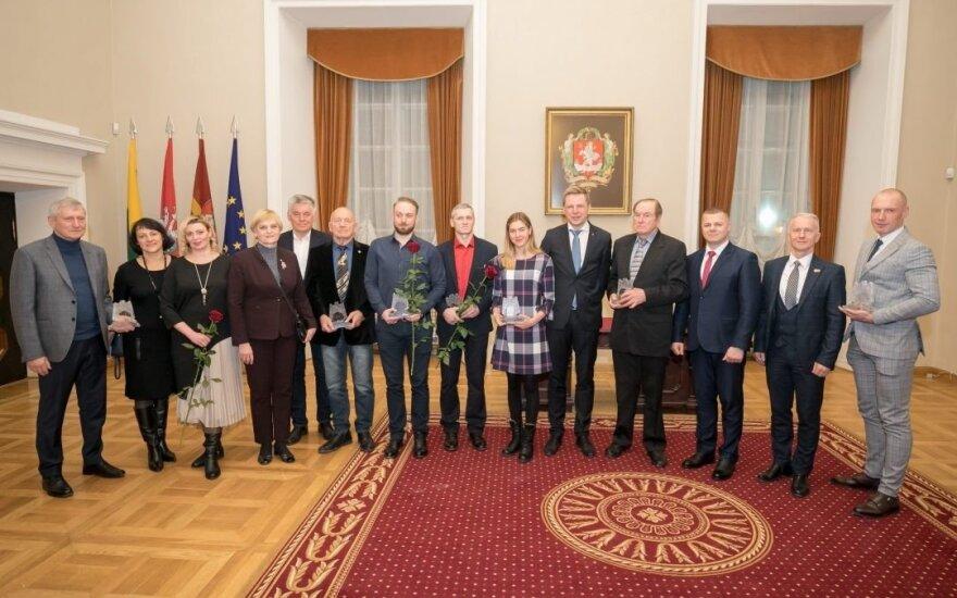 Geriausių Vilniaus sportininkų apdovanojimai