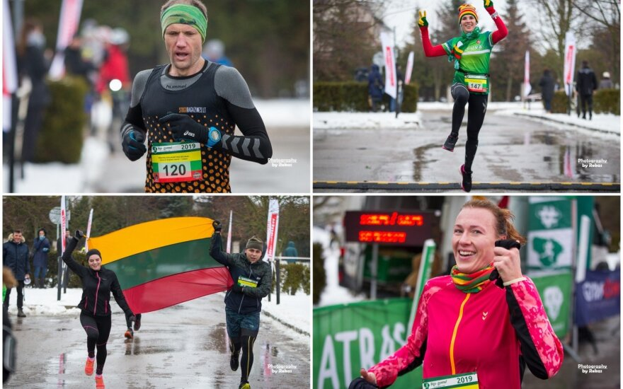 Naujametis bėgimas Kėdainiuose / FOTO: Rokas Lukoševičius