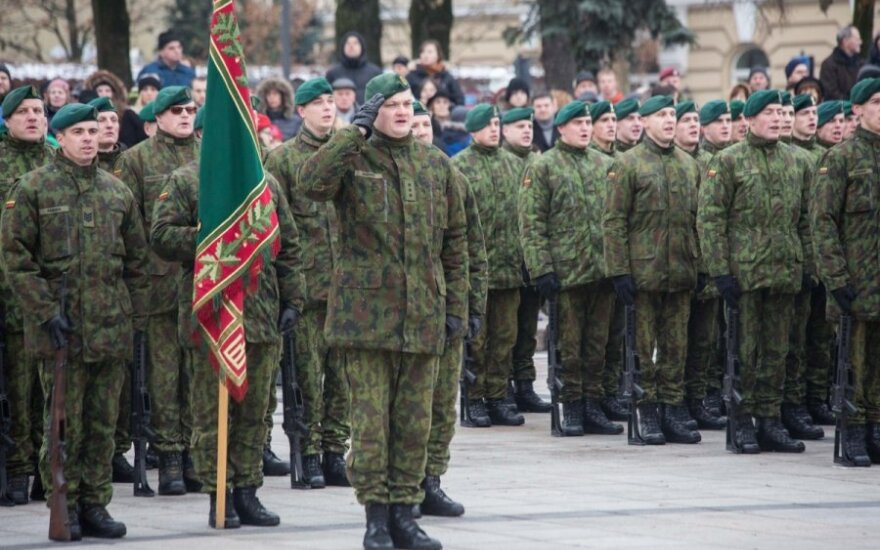 Lithuanian parliament votes overwhelmingly in favour of restoring conscription