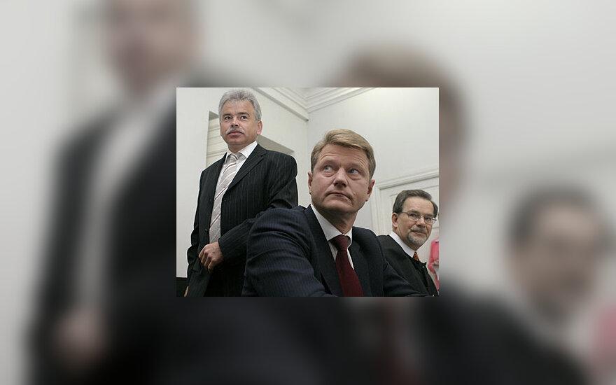 Jurijus Borisovas, Rolandas Paksas ir Vytautas Sviderskis