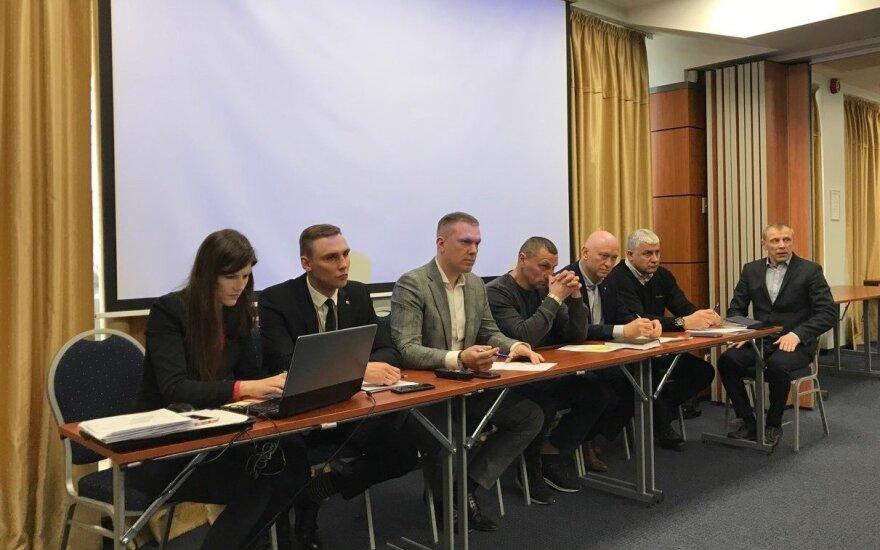 Bokso federacijos ataskaitinė konferencija (LBF nuotr.)
