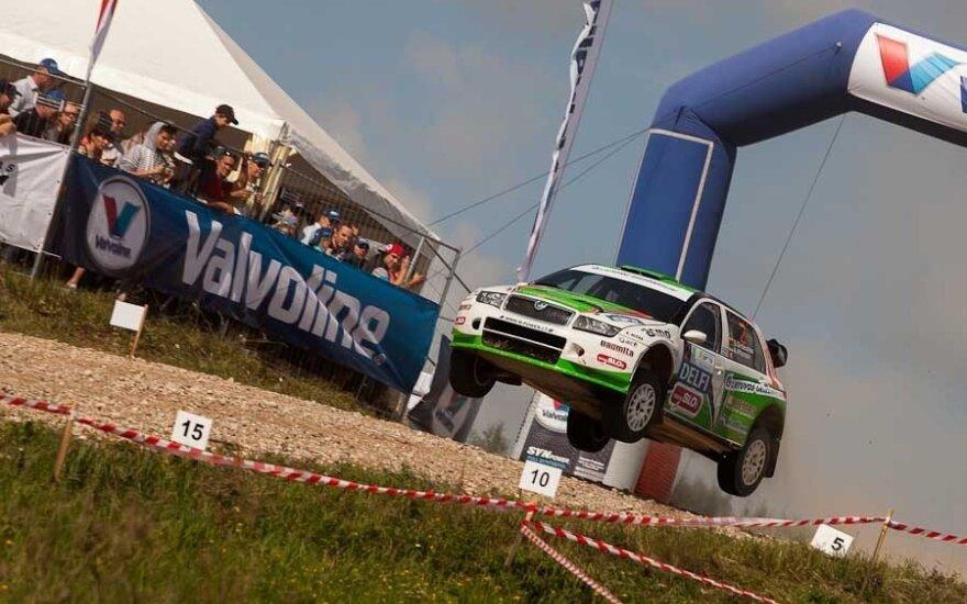 WRC: Lietuvos-Lenkijos ralį sudarys 23 greičio ruožai