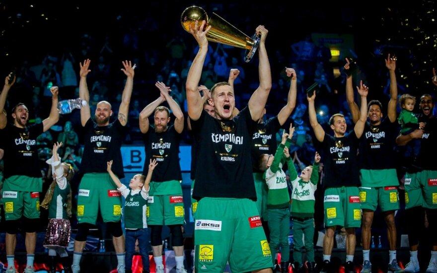 """KTM turnyro nugalėtojai - """"Žalgirio"""" krepšininkai"""
