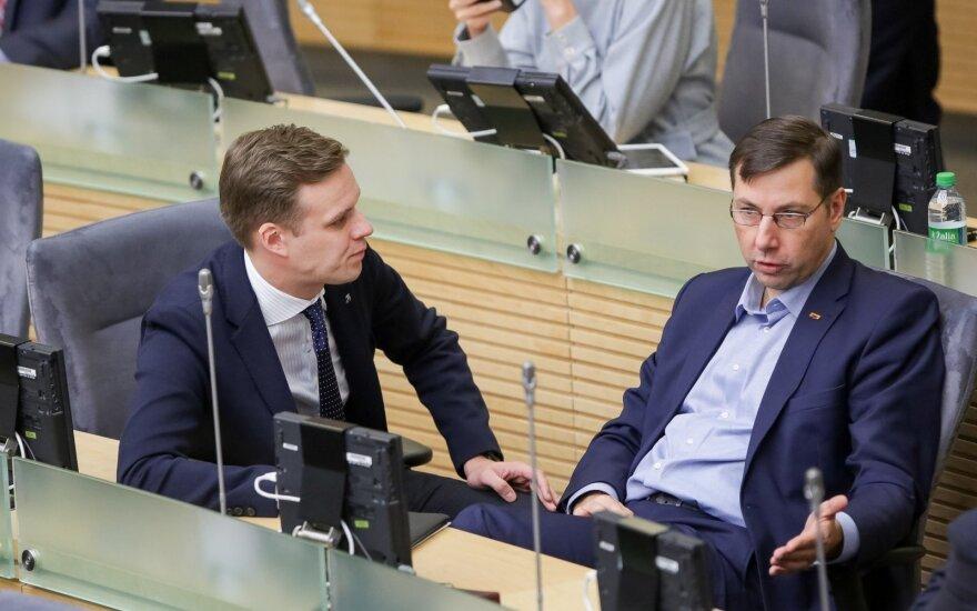 Gabrielius Landsbergis, Gintaras Steponavičius