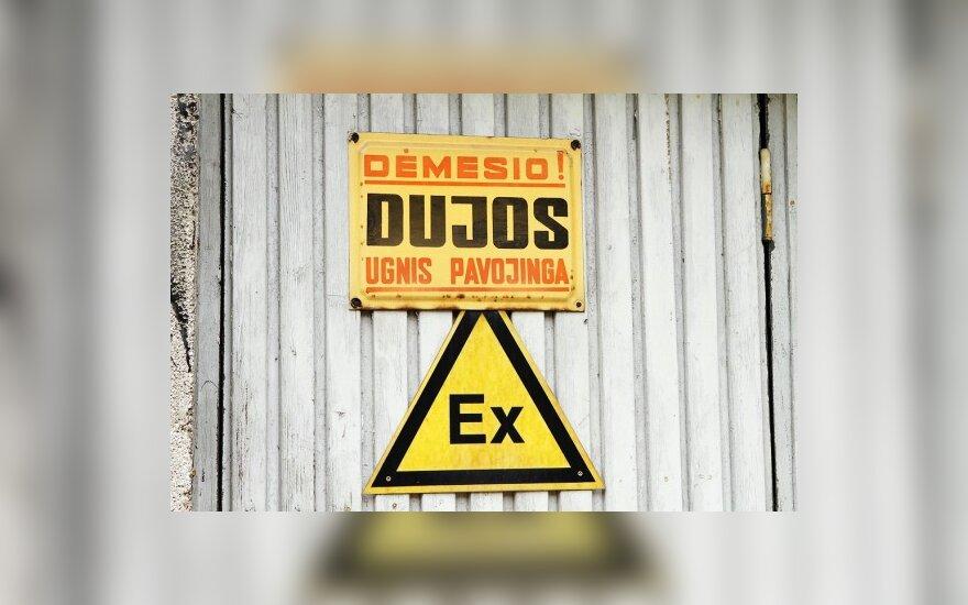 Vilniuje iš pažeisto dujotiekio veržėsi dujos