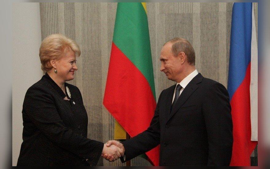D. Grybauskaitė įspėja dėl Kremliaus veiklos