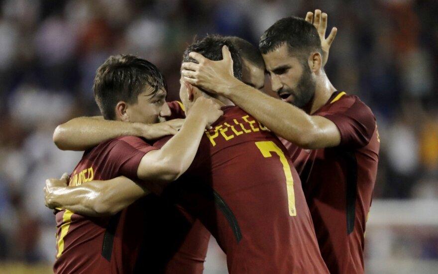 """AS Roma"" futbolininkai"