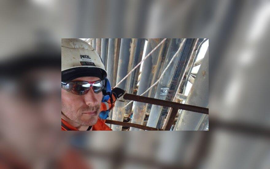 Naftos platformoje dirbantis lietuvis papasakojo, kiek ten galima uždirbti