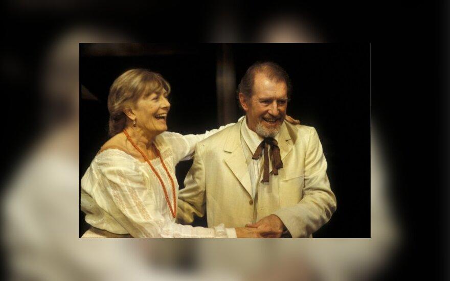 Mirė britų aktorius C.Redgrave