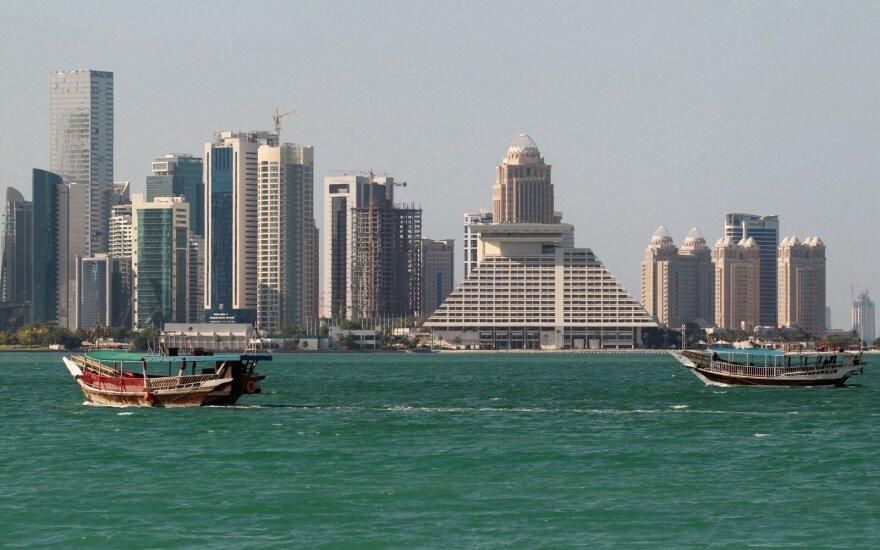 JAV: Persijos įlankos arabų šalių reikalavimai Katarui - nerealistiški