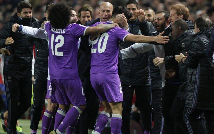 """""""Real"""" futbolininkai džiaugiasi"""