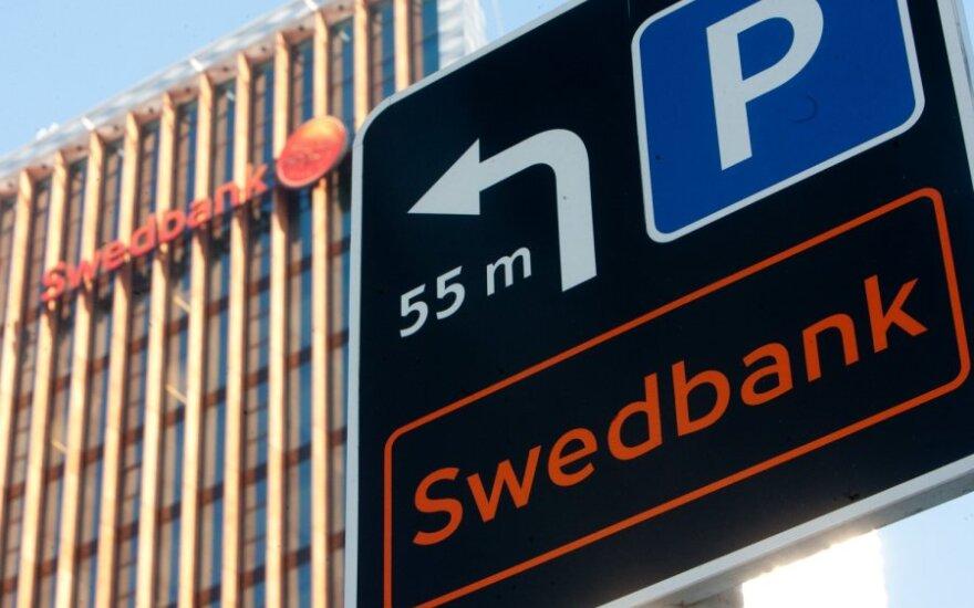 """Mažesnį pelną skaičiuojantis """"Swedbank"""" atsisakė 110 darbo vietų"""