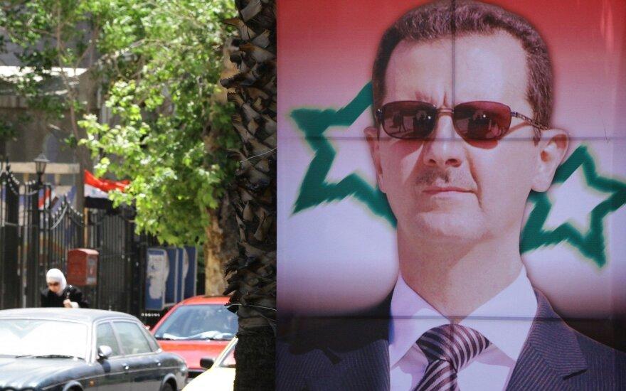 Sirijos prezidentas laimėjo karą, sako prancūzų užsienio reikalų ministras