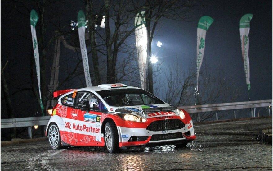 "Dominykas Butvilas ""Rajd Barborka"" ralyje su ""Ford Fiesta R5"""