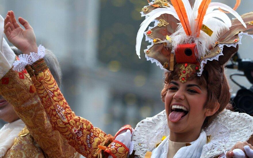 Venecijos karnavalas šiemet nešykšti staigmenų