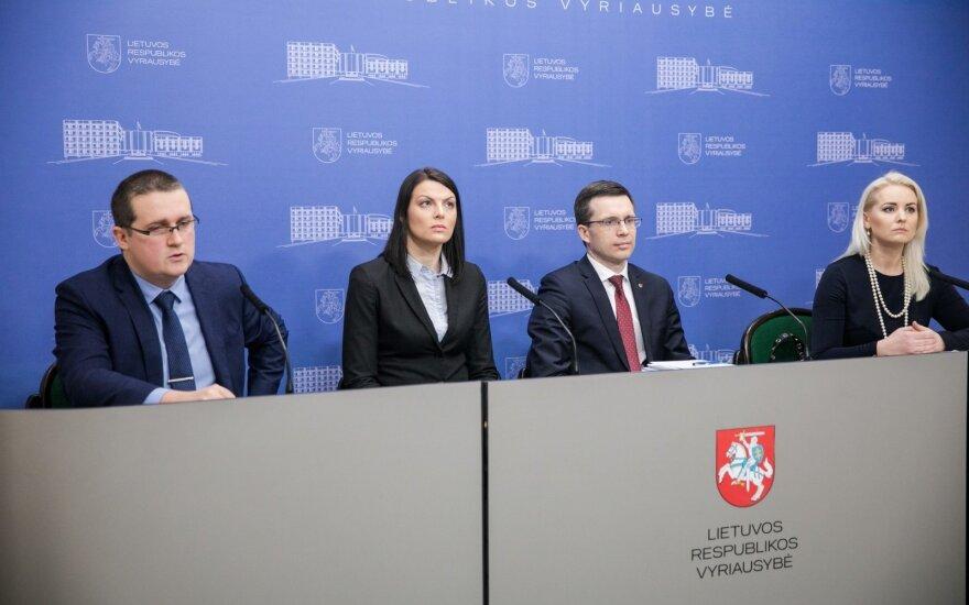 Skirmantas Malinauskas, Rasa Kazėnienė, Karolis Rugys, Dorita Visalgienė