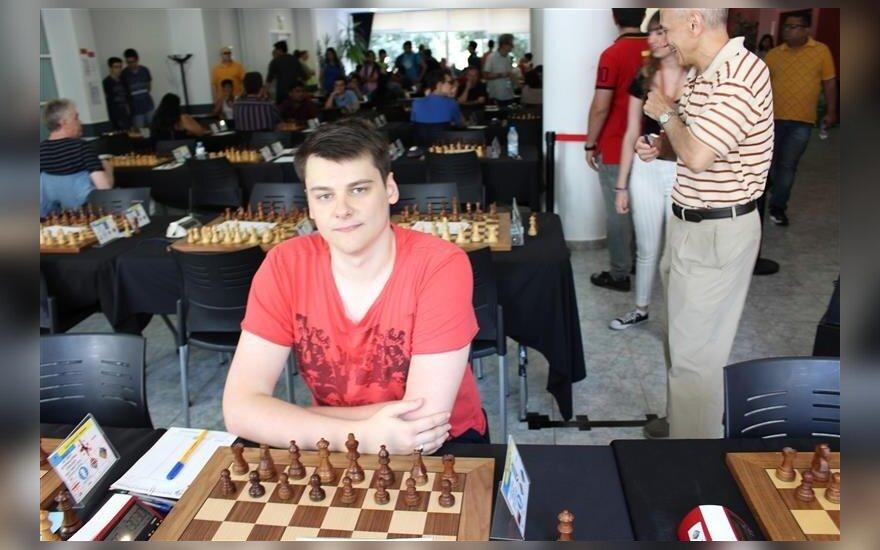 Titas Stremavičius / Foto: Lietuvos šachmatų federacija