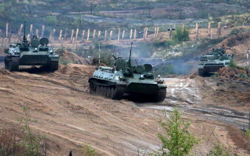 Baltarusijoje – 300 agresijoje prieš Ukrainą dalyvavusių Rusijos kariškių