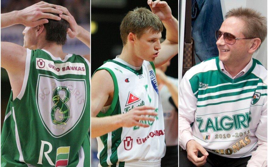 """Jonas Mačiulis, Martynas Pocius, Vladimiras Romanovas / Foto: """"Krepšinio širdis"""", Kiril Čachovskij"""