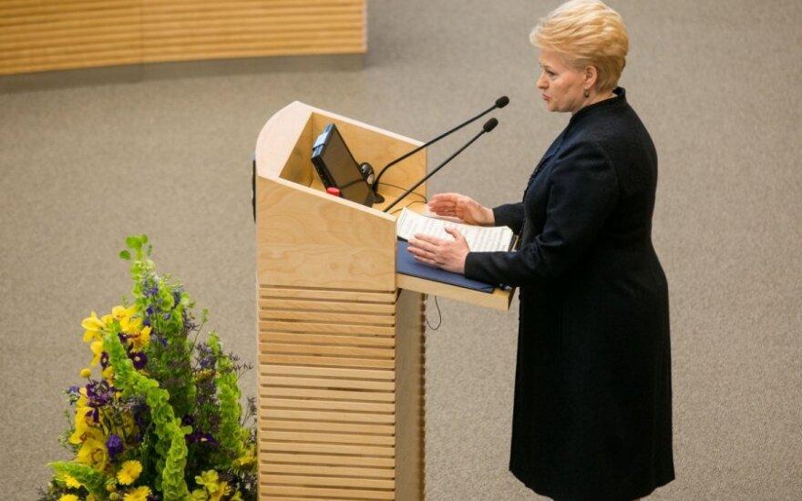 D. Grybauskaitė vetavo Advokatūros įstatymo pataisas