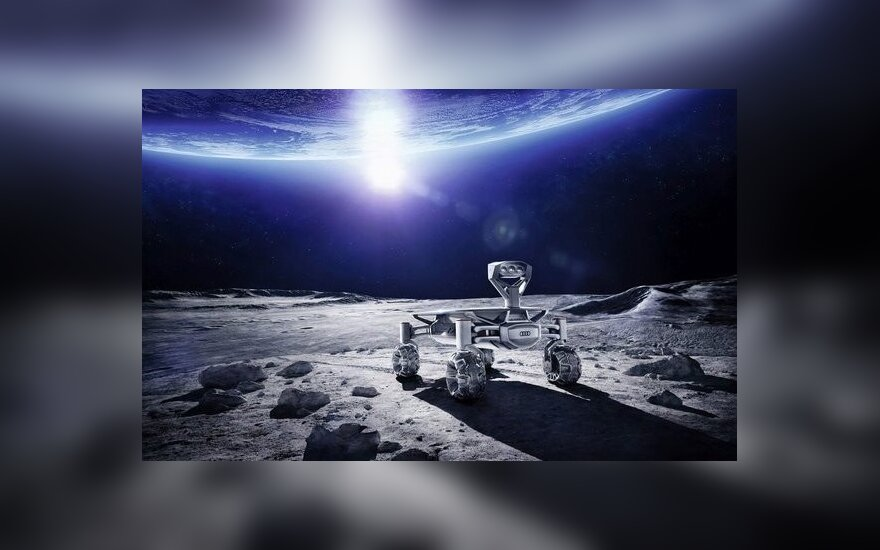 """Audi lunar quattro"" mėnuleigis"