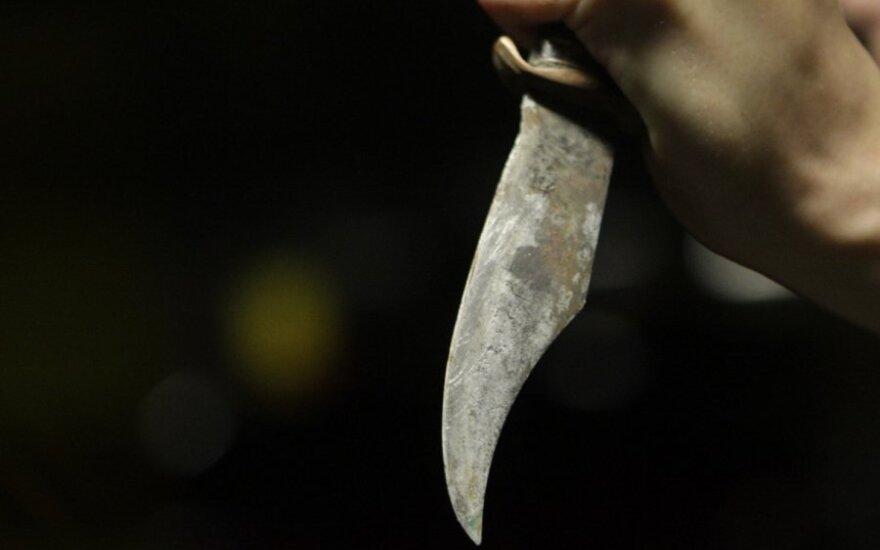 Vilkaviškio r. nuo prievartautojo nepilnametės gelbėti skubėję pareigūnai rado nužudytą jos motiną