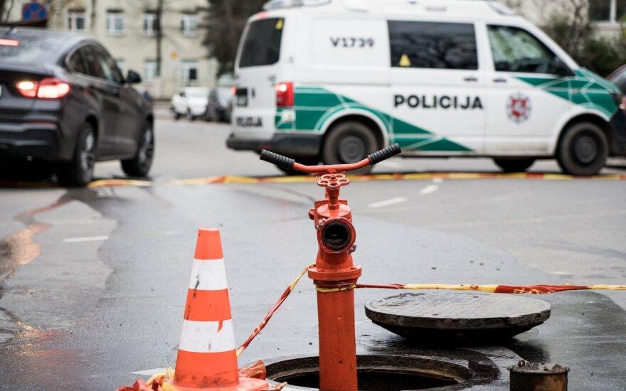 Vilniuje pažeistas dujotiekis: pranešama apie lokalizuotą dujų nuotėkį, eismas atnaujintas