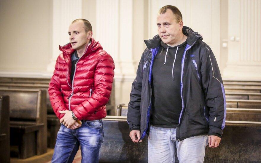 Jevgenijus Dukelis (kairėje) ir Sergejus Grigunas